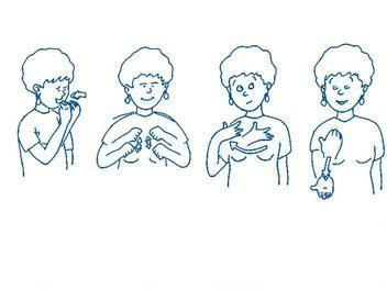 """Extrait du dépliant """"Manger bouger c'est la santé !"""""""