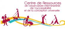 Logo du centre de Ressources de l'observatoire interministériel de l'accessibilité et de la conception universelle